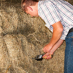 Hay Moisture Meter application.