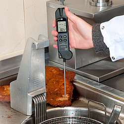 Infrared Thermometer PCE-IR 80-ICA Incl. ISO Calibration Certificate