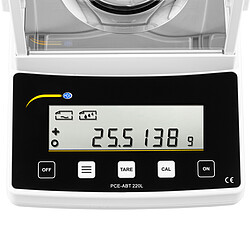 LAB Scale PCE-ABT 220L display