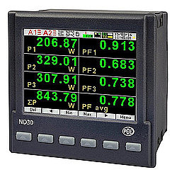 One Phase Power Meter PCE-ND30