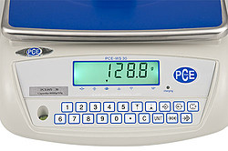 Package Scale PCE-WS 30 Keyboard