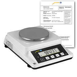 Paper Basis Weight Balance PCE-DMS 1100-ICA Incl. ISO Calibration Certificate