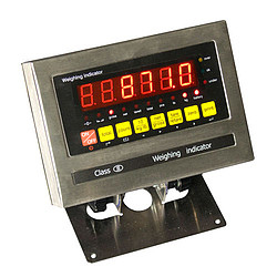 Portable Industrial Pallet Scale PCE-EP 1500 Display