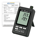 Air Humidity Meter w/ ISO Calibration Certificate PCE-HT110-ICA