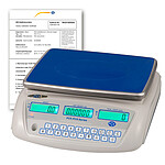 Counting Scale PCE-PCS 6- ICA Incl. ISO Calibration Certificate
