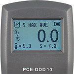 Durometer PCE-DDD 10 Shore D Display