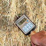 Hay Moisture Meter close up.