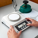 Paper Scale PCE-DMS 1100-ICA Incl. ISO Calibration Certificate